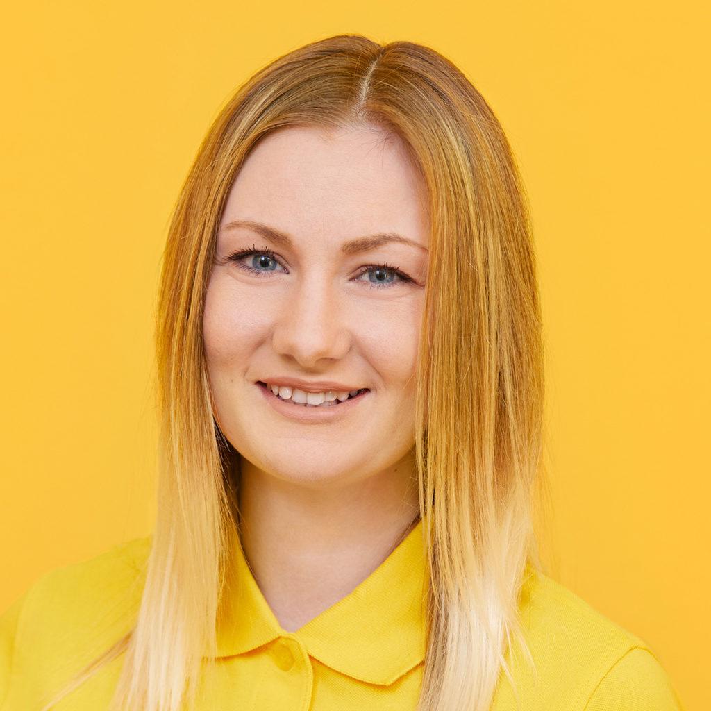Anna Lena Kaufmann angehende Pflegefachkraft